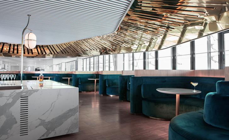 Бизнес-лаундж по проекту Матье Леаннера в Шарль-де-Голле (фото 4)