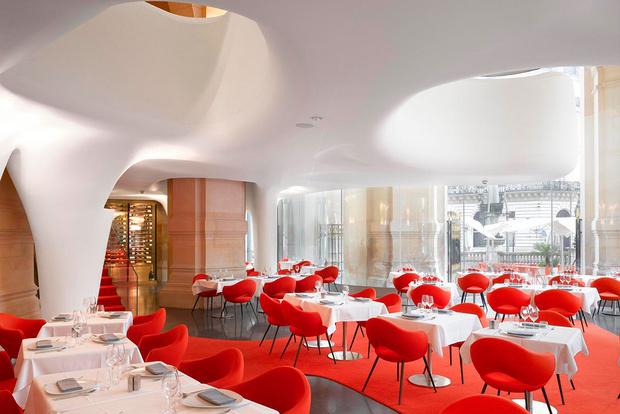 ресторан L'Opera Париж