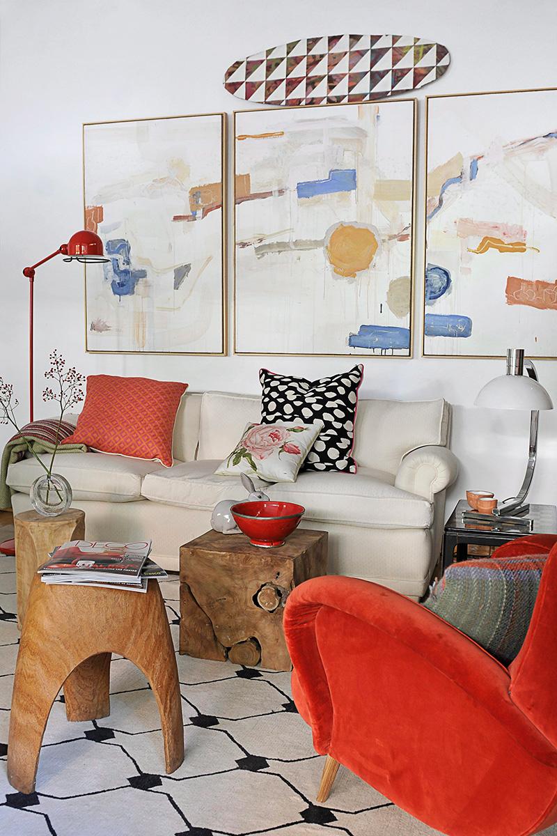 Яркие подушки в интерьере: 20 идей (галерея 0, фото 7)