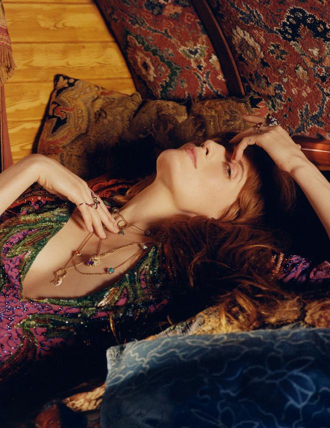 Певица Флоренс Уэлч снялась в магической ювелирной кампании Gucci (фото 2)