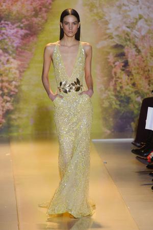 Показ Zuhair Murad коллекции сезона Весна-лето 2014 года haute couture - www.elle.ru - Подиум - фото 575369