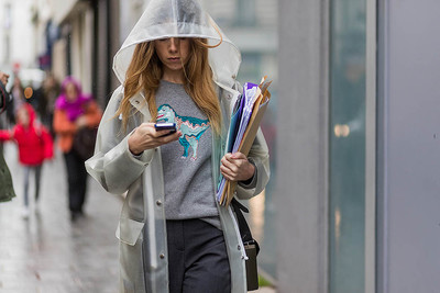 How to dress in the rain: | gallery [2] photos [10]