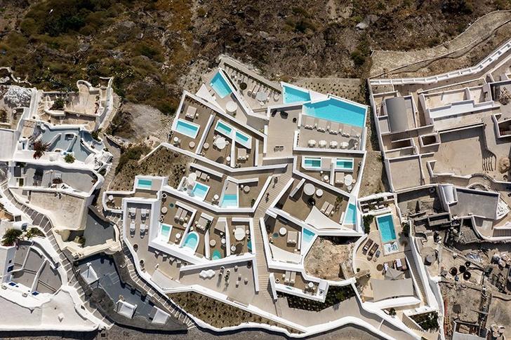 Saint Hotel на острове Санторини по проекту Kapsimalis Architects (фото 2)
