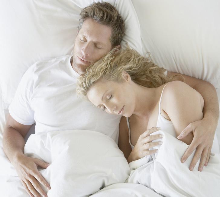 Позы сна пар