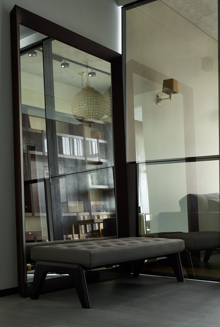 Интерьер лофта в Москва-Сити фото [10]