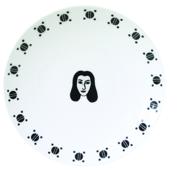 Марджан Сатрапи, художник, кино, комикс, фарфор, Bernardaud, дизайн
