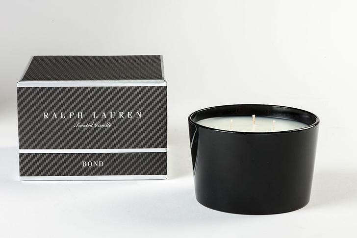 Ароматическая свеча Bond, Ralph Lauren Home, салоны Lege Alto, www.ralphlaurenhome.com