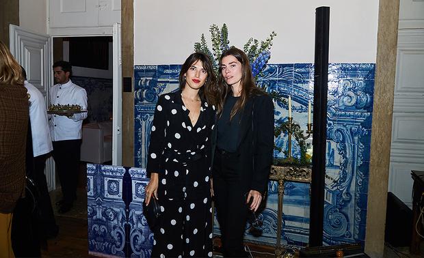 Жанна Дамас и гостья вечера