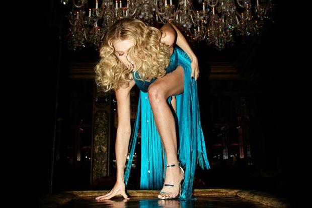 Платье в стиле диско