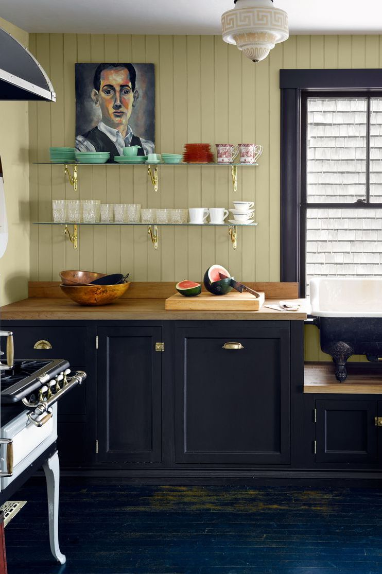 Открытые полки на кухне: 20 примеров (галерея 1, фото 0)
