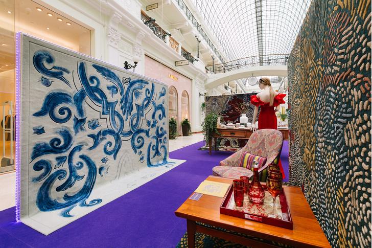 BoscoCasa & Tapis Rouge: коллекция ковров ручной работы (фото 2)