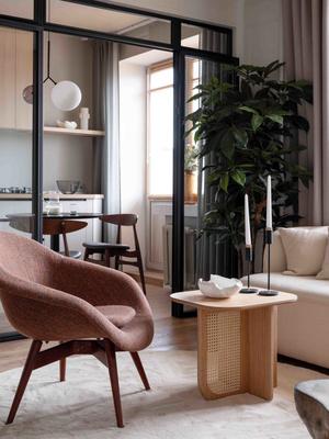 Московская квартира 49 м² в экостиле: проект Анны Васильевой (фото 6.1)