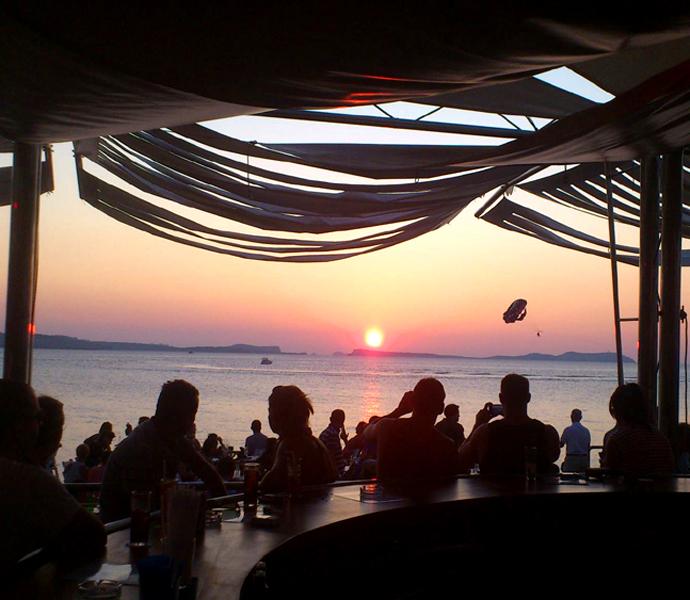 Испания, Ибица, Cafe del Mar