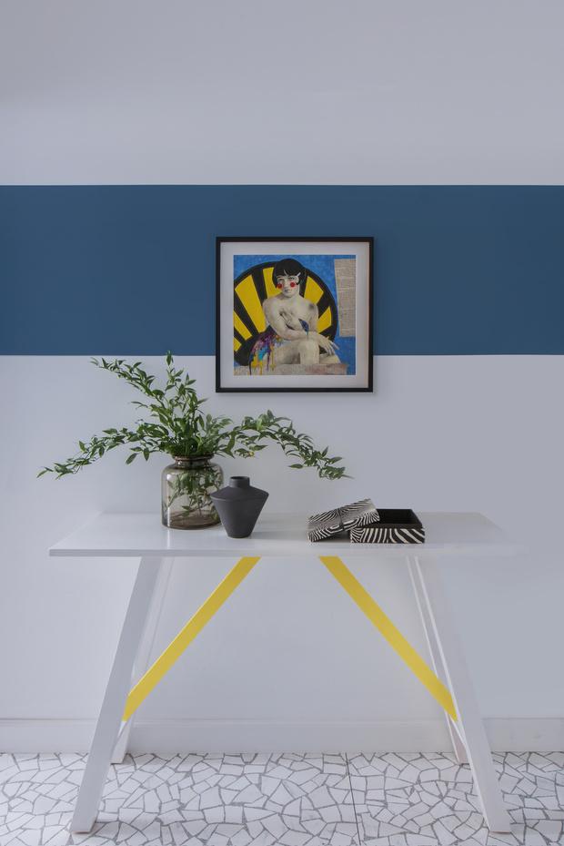 Color blocking: квартира 46 м² под сдачу (фото 7)