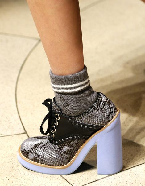 Итоги Недель моды: самая красивая обувь | галерея [5] фото [1]