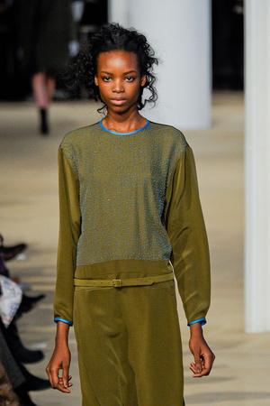 Показы мод Cynthia Rowley Осень-зима 2012-2013 | Подиум на ELLE - Подиум - фото 1735