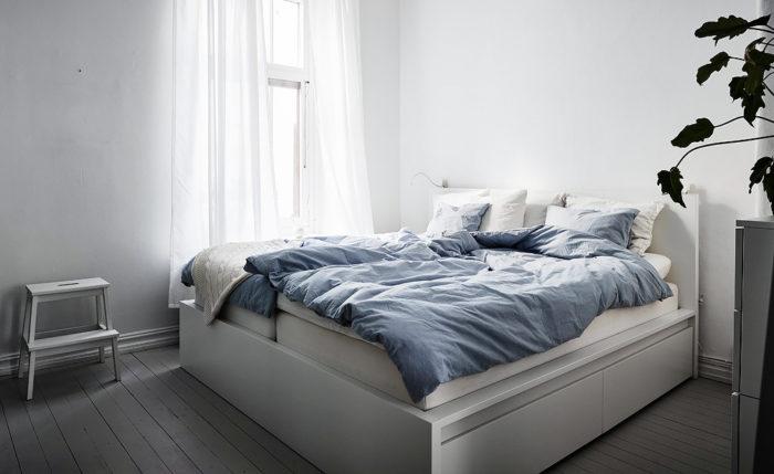 Маленькая спальня: 7 практичных решений (фото 13)