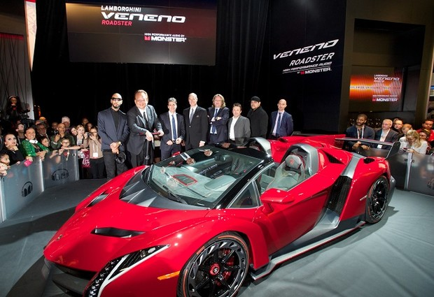 Lamborghini Veneno Roadster, $4,5 млн