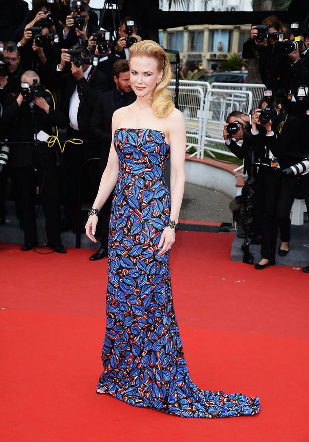 В платье L'Wren Scott, 2013 год