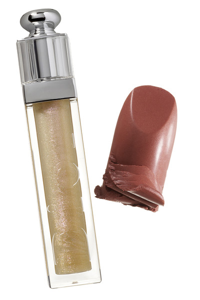 Блеск для губ Dior Addict Gloss, 013; помада Diorific, 041, Dior