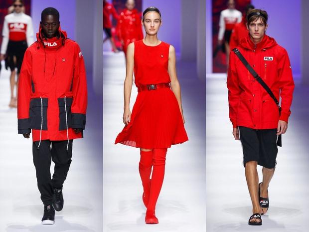 Чем удивил спортивный бренд Fila на Неделе моды в Милане? (фото 2)