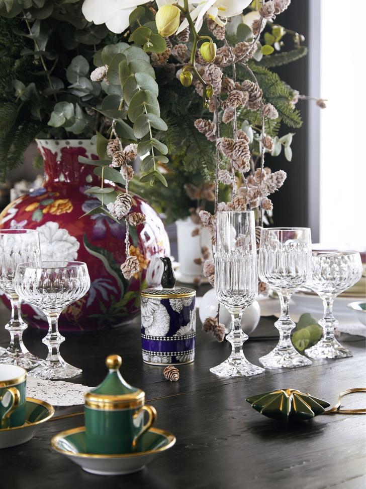 Классический подход: рождественская сервировка от Richard Ginori (фото 2)