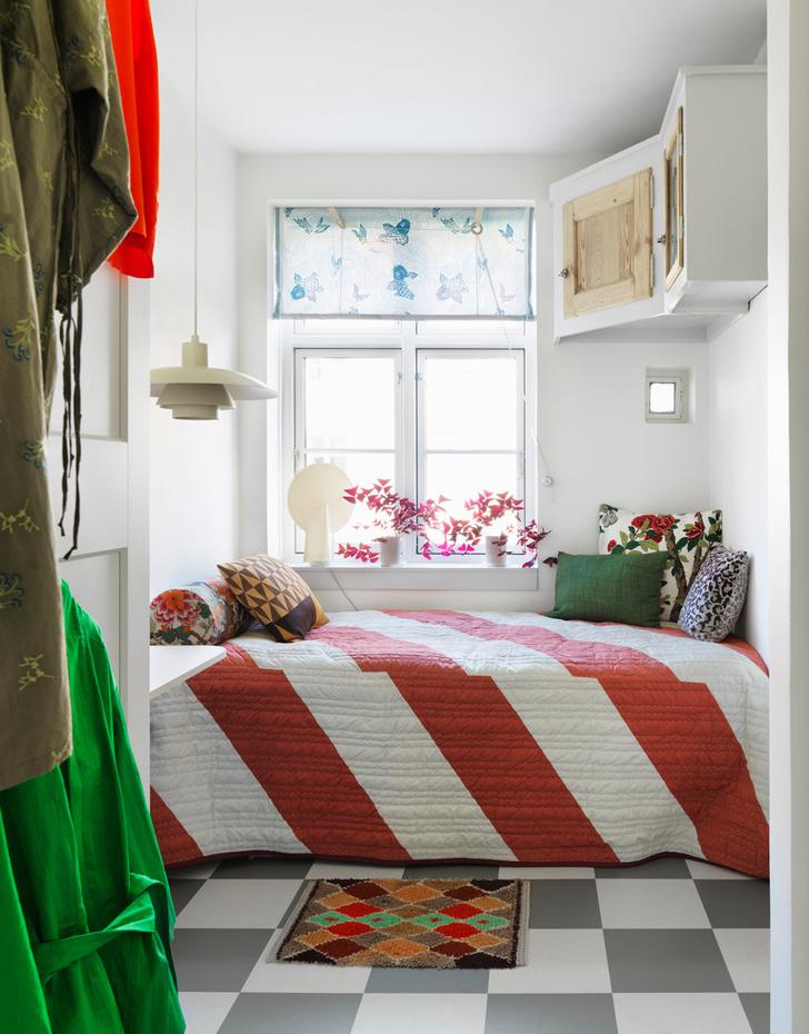 Яркая квартира для творческой пары в Копенгагене (фото 17)