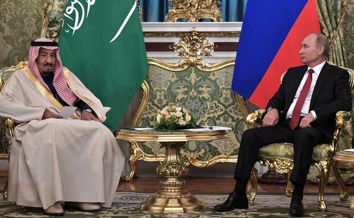 Король Саудовской Аравии прилетел с визитом в Москву фото [3]