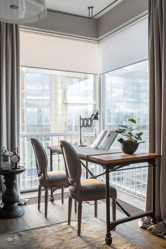 Квартира 200 квадратных метров в Москве: современный интерьер с налетом старины (фото 29)