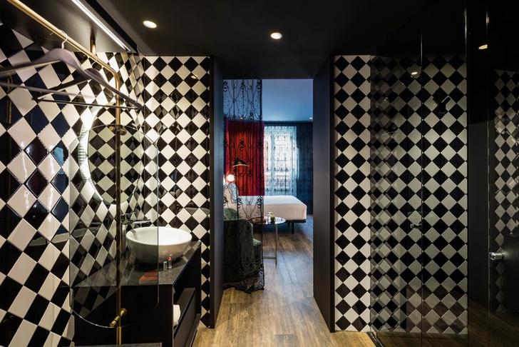 Отель с нетрадиционной ориентацией в Мадриде (фото 11)