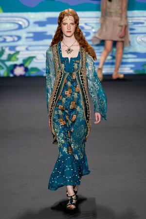 Anna Sui | Подиум на ELLE - Подиум - фото 3588