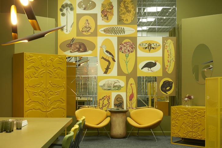 Любовь к цвету: офис интерьерной студии в Бресте (фото 10)