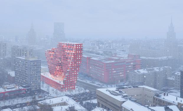 Началось строительство 80-метровой башни RED7 в Москве (фото 6)