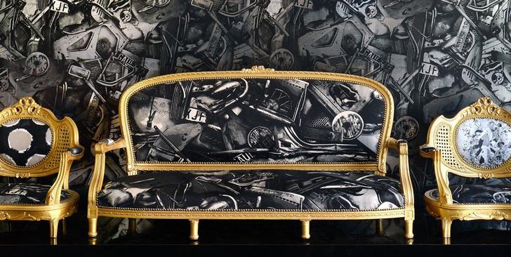 первая коллекция обоев Жан-Поля Готье