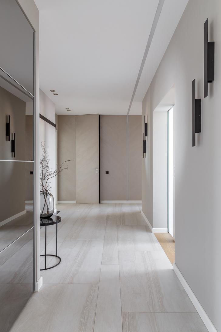 Минималистичная квартира 100 м² в Краснодаре (фото 8)