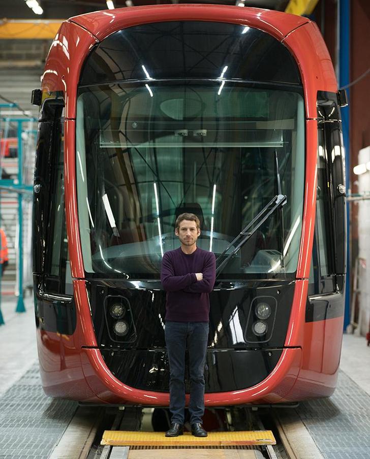 Трамвай в Ницце по дизайну Ора Ито (фото 0)