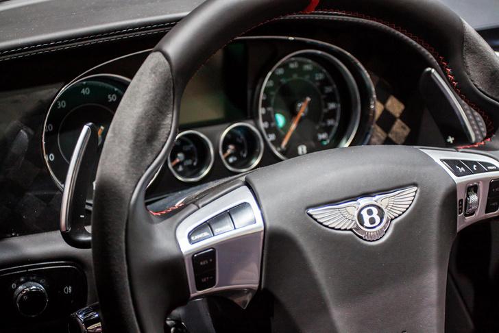 Alcantara Bentley Supersports Cabin
