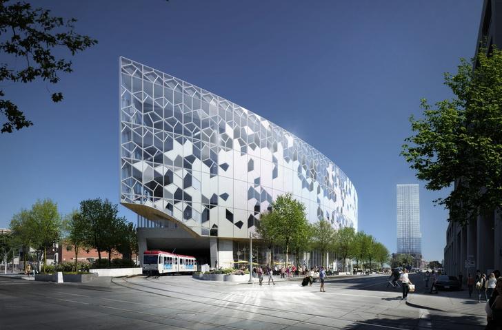 Городская библиотека в Калгари от бюро Snøhetta (фото 0)