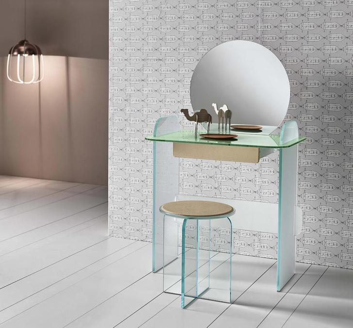 Туалетный столик и табурет Celestino, Tonelli