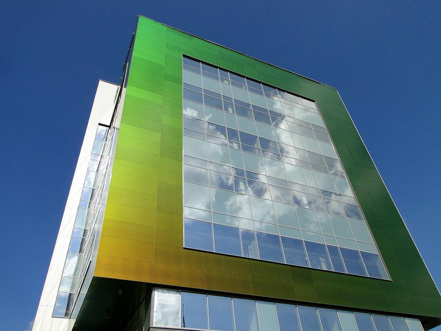 Дом-хамелеон: фасадные панели Rockpanel серии Chameleon | галерея [1] фото [2]