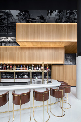 Montreal's Hotel Monville by ACDF Architecture features strict palette (фото 5.2)