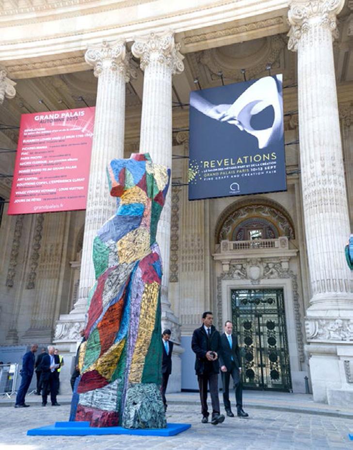 Художники из России впервые на выставке Revelations