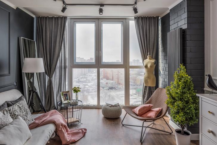 Нежная квартира 30 м² в Самаре (фото 0)