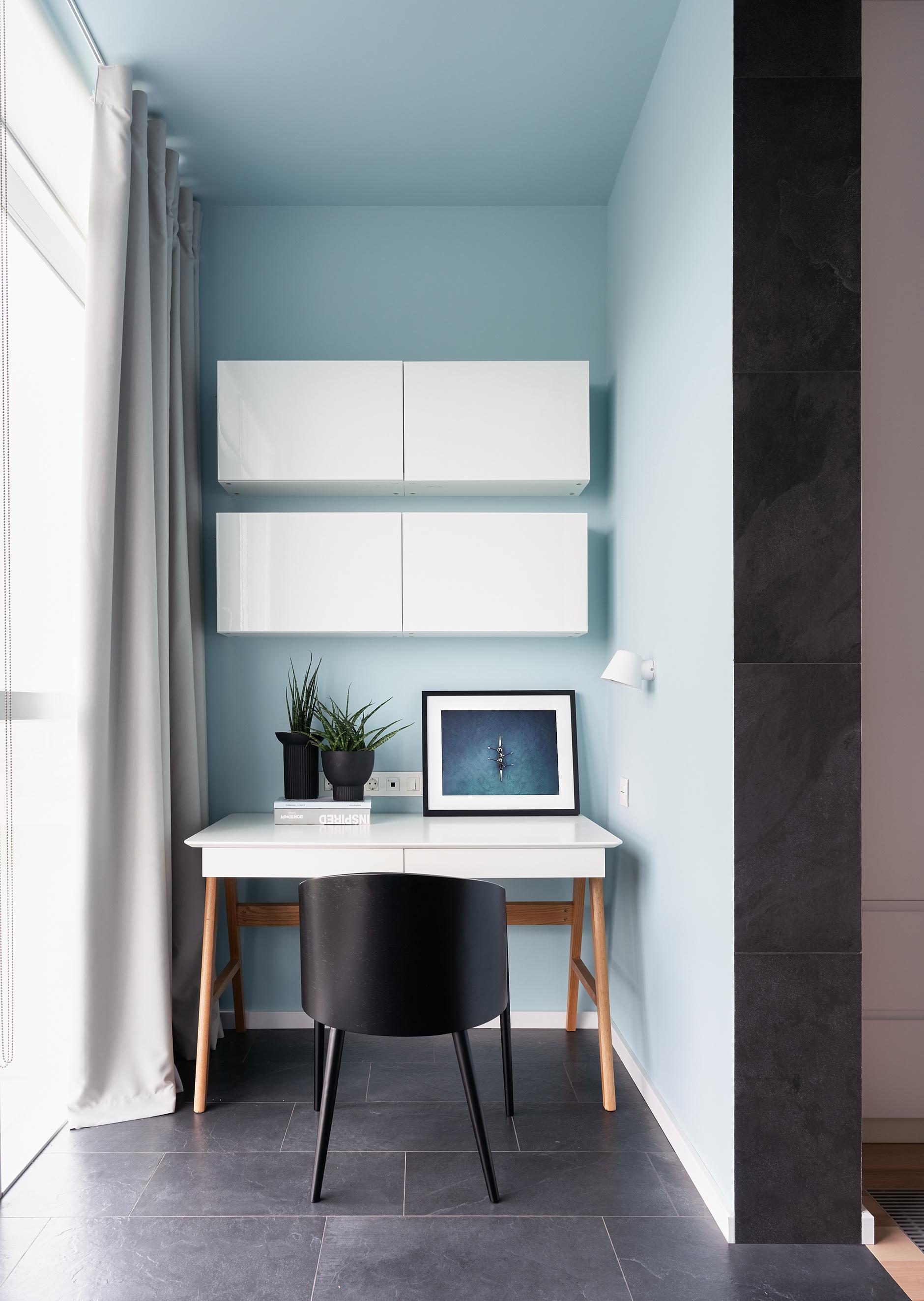 Рабочее место на балконе: 10+ идей и решений (галерея 0, фото 1)
