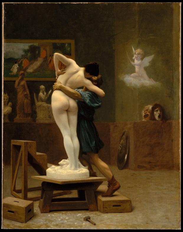 Любовное настроение: 24 культовые скульптуры, картины и фотографии поцелуев (фото 10)