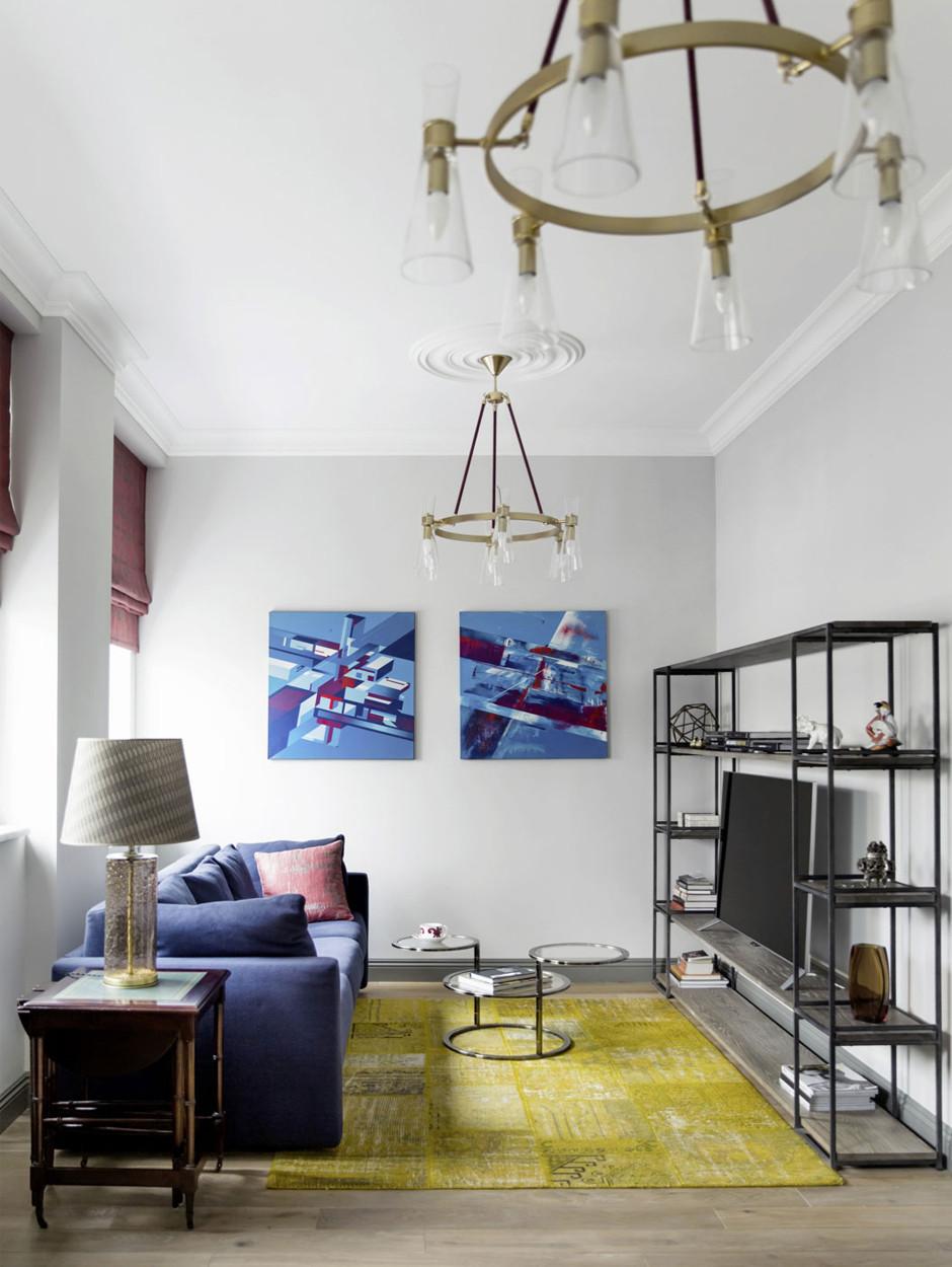 Картины без рам в интерьере: 10 примеров (галерея 0, фото 0)
