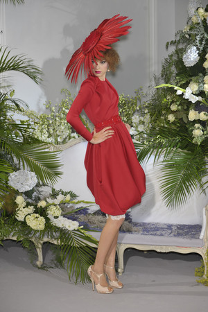 Показ Christian Dior коллекции сезона Осень-зима 2009-2010 года Haute couture - www.elle.ru - Подиум - фото 87321