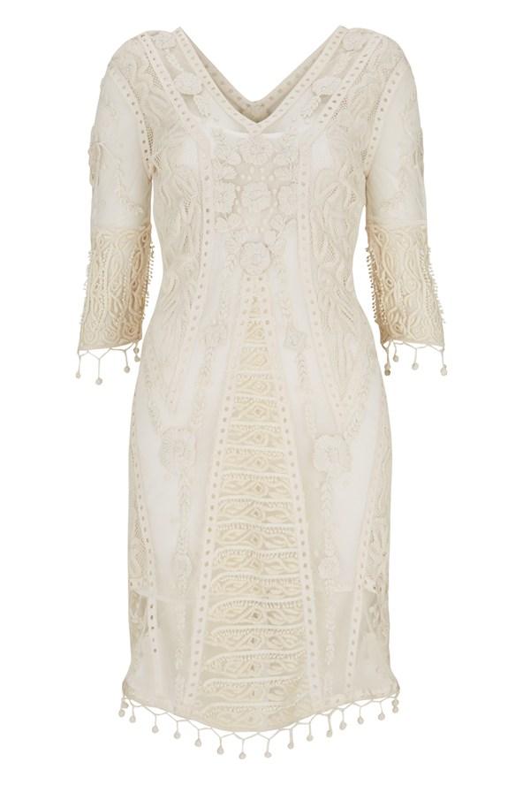 Что носить летом 2014: белое платье