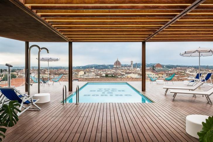 Краски молодости: студенческий отель во Флоренции (фото 8)