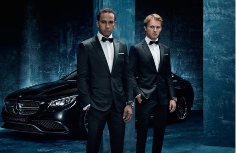 Hugo Boss одели лучших гонщиков Формулы-1